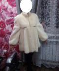Платье в стиле макс мара, искусственная шубка под норку, Средний Икорец