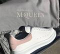 Alexander McQueen кроссы, зимние полуботинки женские натуральная кожа распродажа, Шемурша