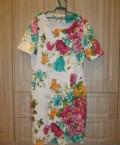Платье, модели летних платьев для девушек из льна, Подгоренский