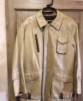Кожаная куртка новая(Италия), мужские брюки без стрелок, Каневская