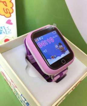 Умные детские часы с GPS Q100 новые+магазин