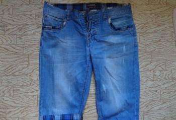 Мужские джинсовые шорты, брюки мужские много карманов