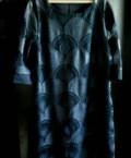 Платье из атласа черное, платье, Белгород