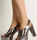 Босоножки металлик Mada-Emme, купить кроссовки из натуральной кожи, Гостилицы