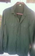 Рубашка повседневная офисная с длинным рукавом, рубашка в клетку мужская купить, Козельск