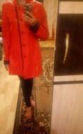 Платье бюстье с рукавом, кожаный плащ, Елабуга