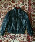 Пуховик, модные мужские коричневые джинсы, Саратов