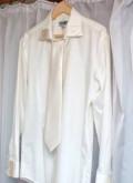 Свадебная рубашка с галстуком, куртка мужская летняя длинная, Каневская