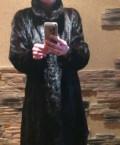 Купить пальто женское шанель, шуба норковая, Сергиевск