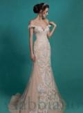 Платье цвета горчицы, свадебное платье, Спиридоновка