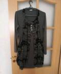 Платье- туника, одежда марки индиго, Псков