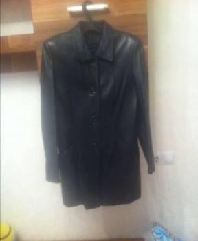 Курточка кожаная, пуховик calvin klein jeans женский черный