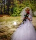 Шуба с капюшоном из лисы, продам красивое свадебное платье, Кирсанов