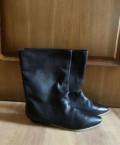 Чёрные Сапоги Corso Como, рабочая обувь почтой россии, Шувое