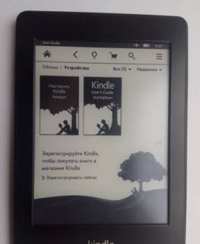 Электронная книга Kindle Paperwhite 3G+WiFi