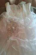 Свадебное платье со стразами, кожаная куртка-жилетка из меха чернобурки, Мучкапский
