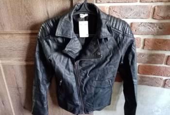 Новая косуха H&M 165-170, прямые широкие джинсы мужские