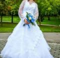 Продам свадебное платье, купить бу женскую куртку, Великие Луки