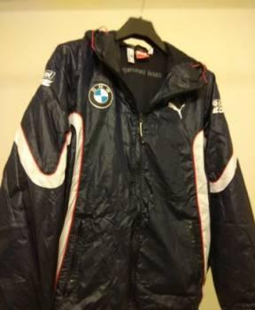 Ветровка Puma BMW Motorsport, трикотажный кардиган мужской