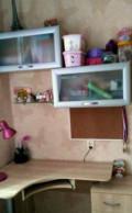 Угловой столик, книжные полочки закрытые и стеклян, Архангельск