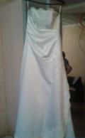 Платье jovani белое в пол, платье, Сольвычегодск