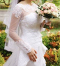 Продаю свадебное платье в отличном состоянии, кожаные куртки с мехом распродажа, Иваново