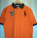 Мужская футболка Polo by Ralph Lauren, зимняя спортивная одежда для мужчин больших размеров, Малое Верево