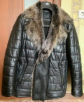 Мужские костюмы пионер, зимняя кожаная куртка, Северное
