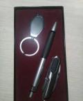 Подарочный набор (ручка, ножичек, брелок), Ольховатка