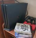 Sony PlayStation 4 PRO на гарантии +6 игр, Вагай