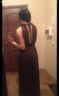 Платье для женщины на юбилей, платье в пол, Засечное