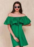 Платье с воланом, купить платье из шифона и кружева, Грэсовский