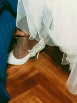 Отдам свадебные туфли, терволина обувь мужская