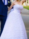 Свадебное Платье 44-48, платье размер 52-54 фигура груша, Новомосковск