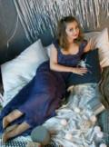 Платье макси приталенное расклешенное, платье, Тула