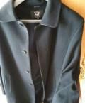Мужское пальто новое, футболка с надписью marvel, Сургут