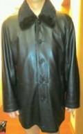 Продам куртку кожаную натуральный мех, мужская одежда для фитнеса купить, Верх-Ирмень