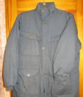 Толстовка на молнии с капюшоном на меху, куртка тёмно-зелёная (р-р 54/56), Белые Берега