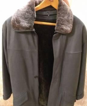 Мужские свитера из 100 шерсти на морозы, куртка кожанная с меховой подстежкой