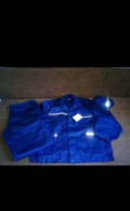Костюм рабочий р.52-54, 56-58, толстовка женская с капюшоном на молнии бордовая, Большеречье