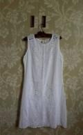 Платья с гипюром снизу, платьице батистовое новое (Индия), Симферополь