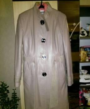 Френч кожаный, платье футляр черного цвета
