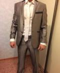 Мужская куртка с мехом волка вайлдберриз, костюм мужской, Брянск
