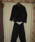 Мужское кашемировое пальто с меховым воротником, костюм рабочий 46 размера, Моршанск