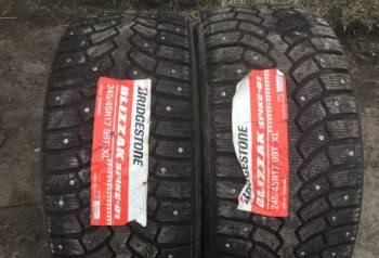 Шины на калину кросс, 245/45 Р17 Bridgestone пара