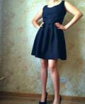 Черное платье дольче габбана короткое, платье чёрного цвета, р/р44-46, Самара