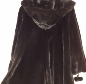 Шуба норковая чёрная, б/у 1 сезон мех очень красивы, одежда для девушки на каждый день весной