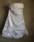 Модные платья с пышным рукавом, платье белое, Многовершинный