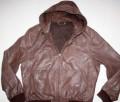 River island - XL/XXL кожаная куртка, пальто мужское большой размер, Смоленск