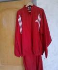 """Спортивный костюм """"adidas"""" Германия, красный, рост, джинсы на резинке мужские, Евпатория"""